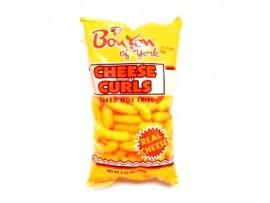 BONTON CHEESE CURL, 3.75OZ