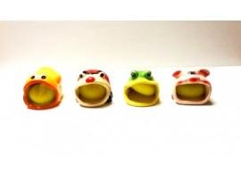 Sponge Holder Animal Ceramic Asst