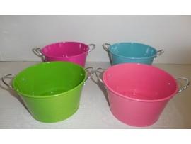 Tin Bucket Colors 6.X3.25