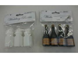 Wedding Bubbles, Dove/Champagne