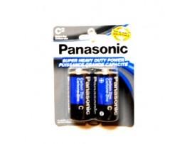 Batteries C 2pk. Panasonic H/D